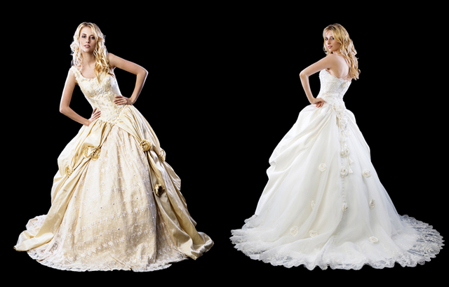 Extravagant dresses from the